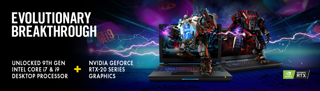EVOLUTIONARY BREAKTHROUGH - Revolutionary Gaming Experience with 9TH Gen Intel Core Desktop Processor