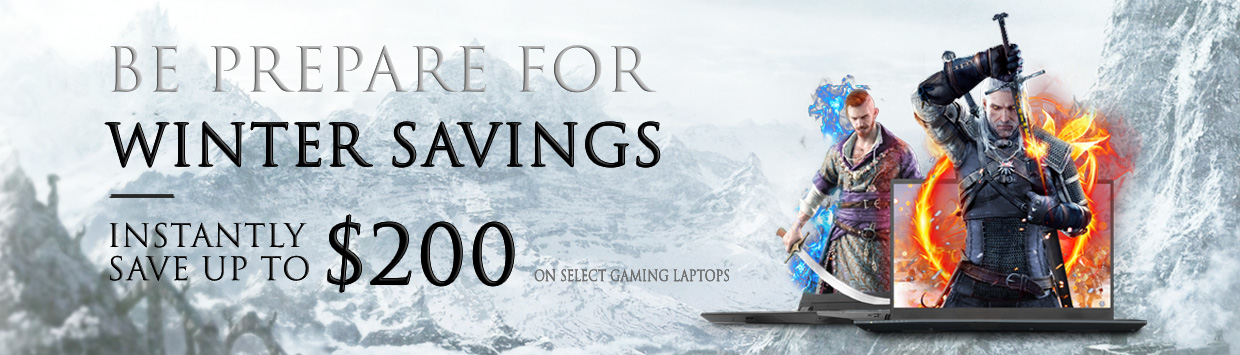 WINTER SAVINGS! - Save Up To $200 OFF Instantly!
