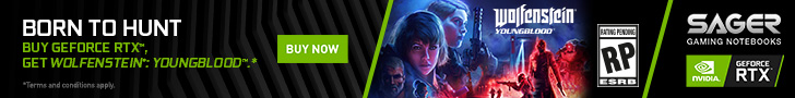 Buy GeForce RTX, Get Wolfenstein: Youngblood.*