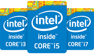 Powered by 4th Generation Intel Core Processor
