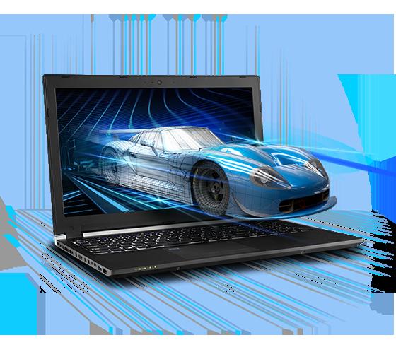 Sager NP2950 Workstatiion Laptop