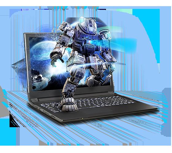 Sager NP4850 Gaming Laptop