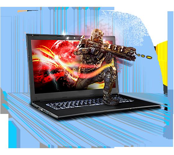 Sager NP5870 Gaming Laptop