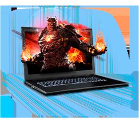 Sager NP5872 Gaming Laptop