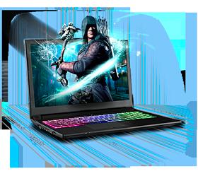Sager NP6852 Gaming Laptop
