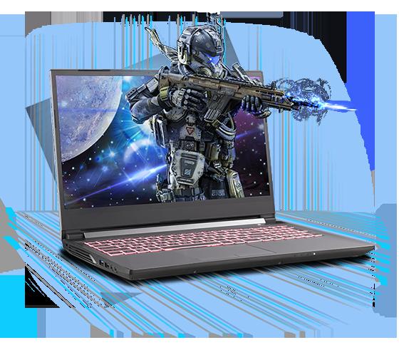 Sager NP6858BQ Gaming Laptop