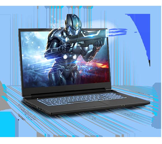 Sager NP6877BQ Gaming Laptop