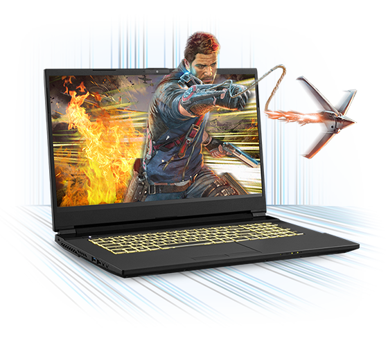 Sager NP6858EQ Gaming Laptop