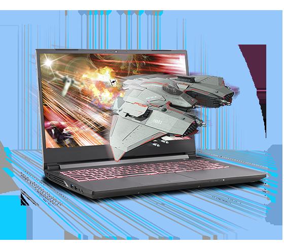 Sager NP7858PQ-S Gaming Laptop