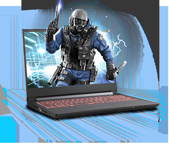 Sager NP7859KQ Gaming Laptop