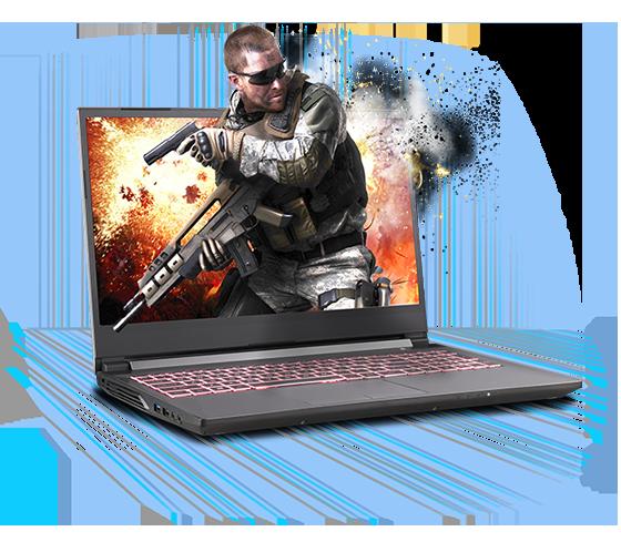 Sager NP7859PQ-S Gaming Laptop