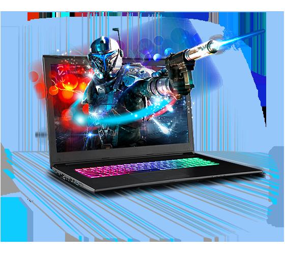 Sager NP7871 Gaming Laptop