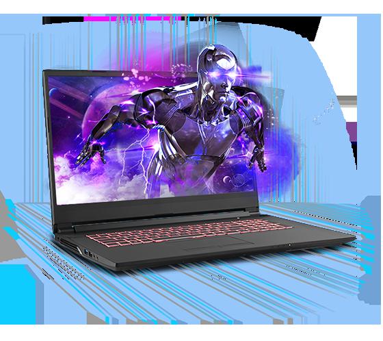 Sager NP7876-B Gaming Laptop