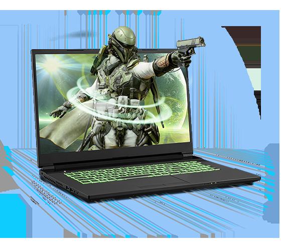 Sager NP7877PQ Gaming Laptop