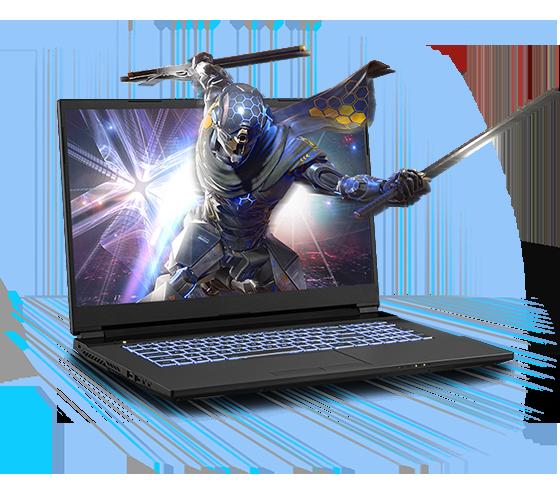 Sager NP7879JQ Gaming Laptop