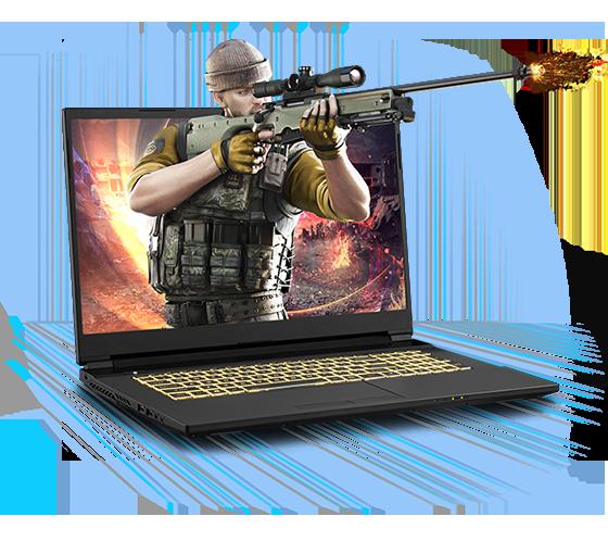 Sager NP7879KQ Gaming Laptop