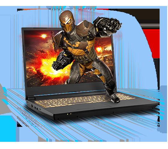 Sager NP7958F1 Gaming Laptop