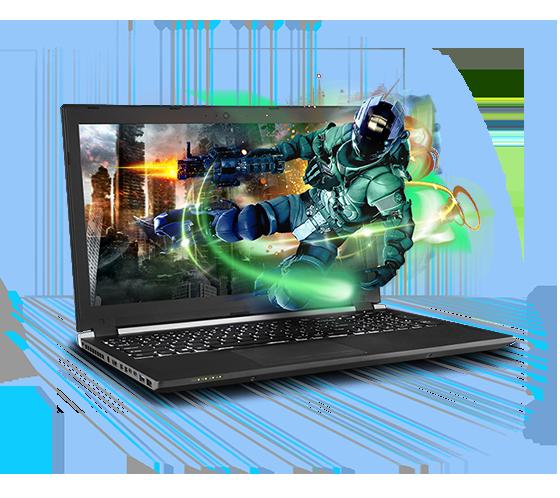 Sager NP8154 Gaming Laptop