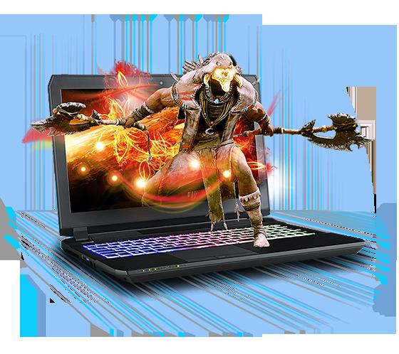 Sager NP8155 Gaming Laptop