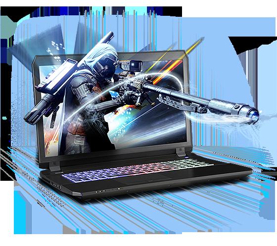 Sager NP8174 Gaming Laptop