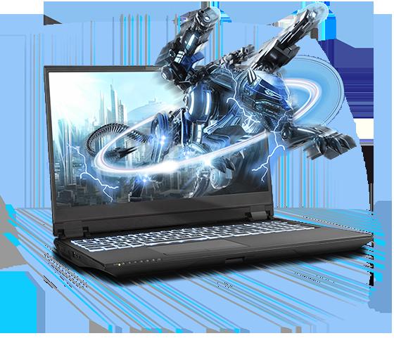 Sager NP8358F2 Gaming Laptop