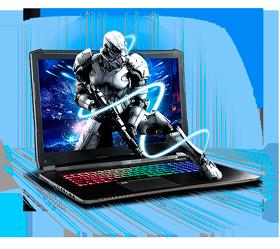 Sager NP8370 Gaming Laptop