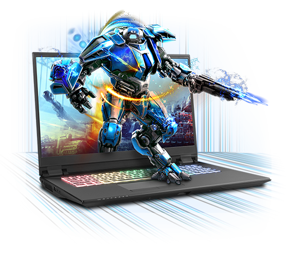 Sager NP8371 Gaming Laptop