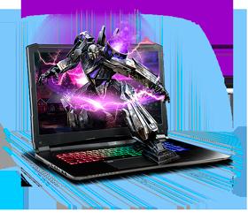 Sager NP8372 Gaming Laptop