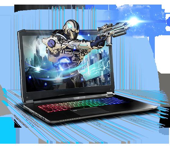Sager NP8373 Gaming Laptop