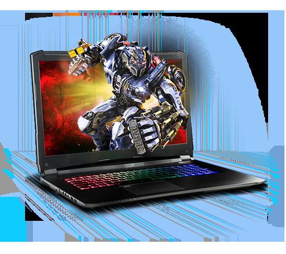 Sager NP8374 Gaming Laptop