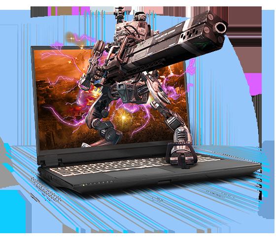 Sager NP8458F2 Gaming Laptop