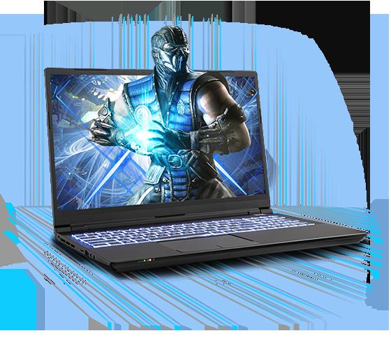 Sager NP8752F1 Gaming Laptop