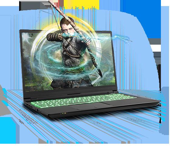 Sager NP8968 Gaming Laptop