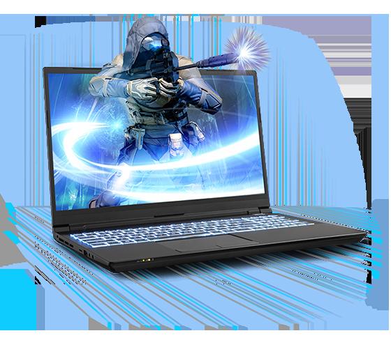 Sager NP8752R Gaming Laptop