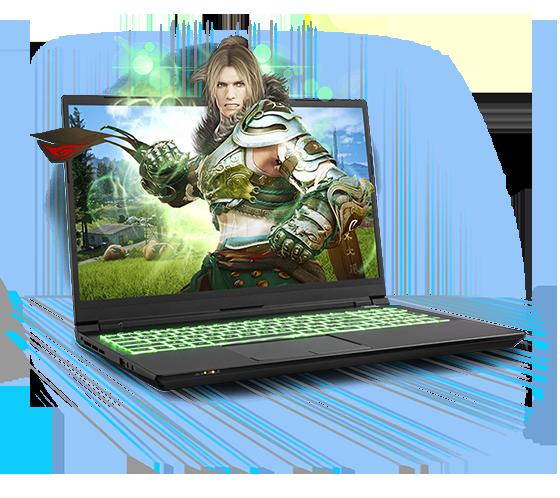 Sager NP8753S Gaming Laptop