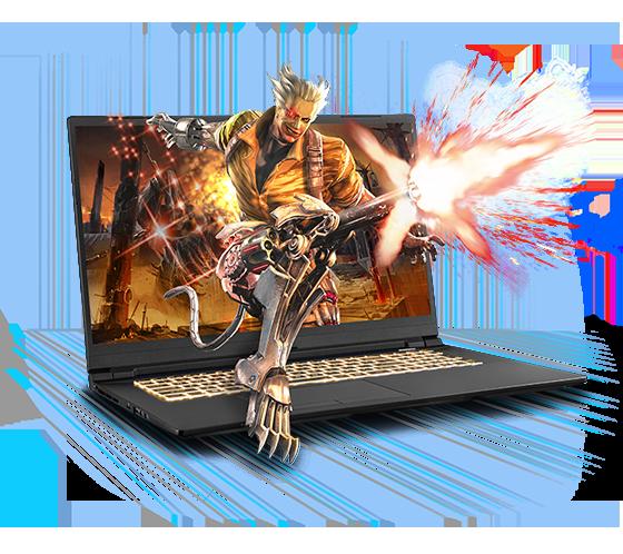 Sager NP8770D2 Gaming Laptop