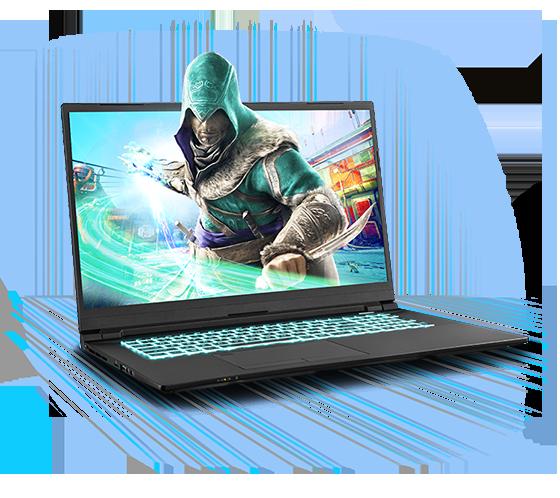 Sager NP8770S Gaming Laptop