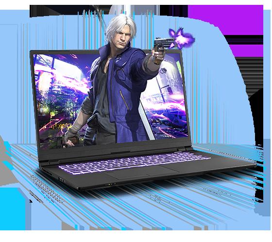 Sager NP8773R Gaming Laptop