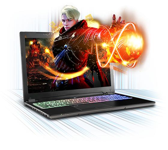 Sager NP8851 Gaming Laptop