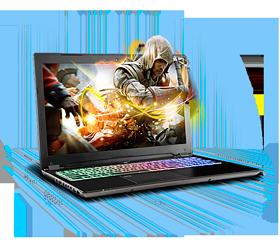 Sager NP8950 Gaming Laptop