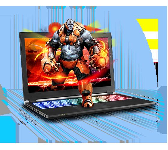 Sager NP8953 Gaming Laptop