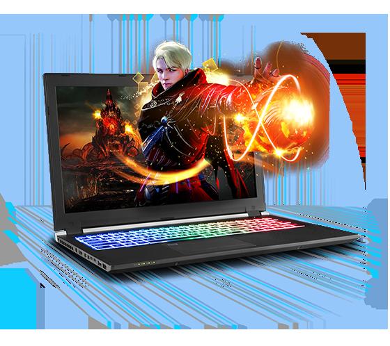Sager NP8954 Gaming Laptop