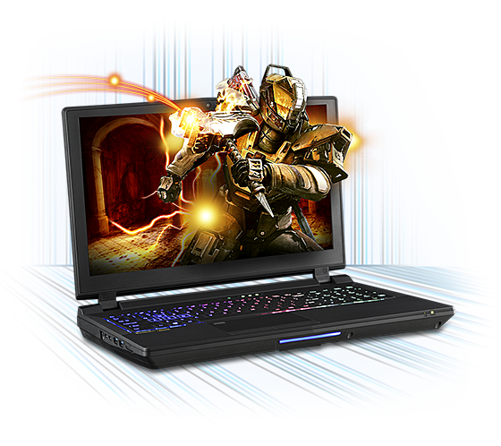 Sager NP9152 Gaming Laptop