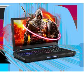 Sager NP9155-S Gaming Laptop