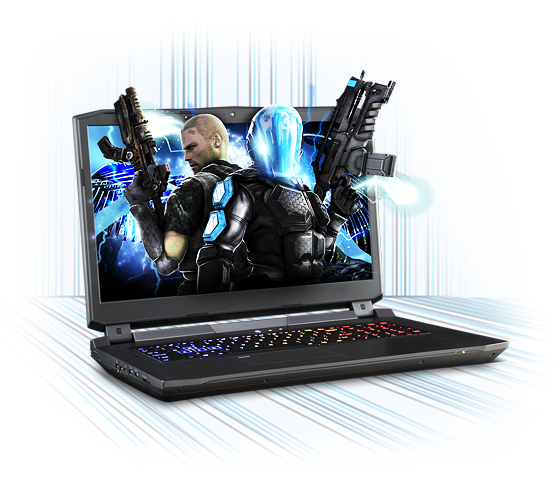 Sager NP9172 Gaming Laptop