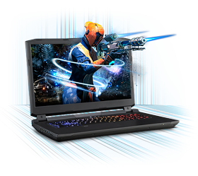 Sager NP9175 Gaming Laptop