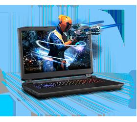 Sager NP9172-S Gaming Laptop