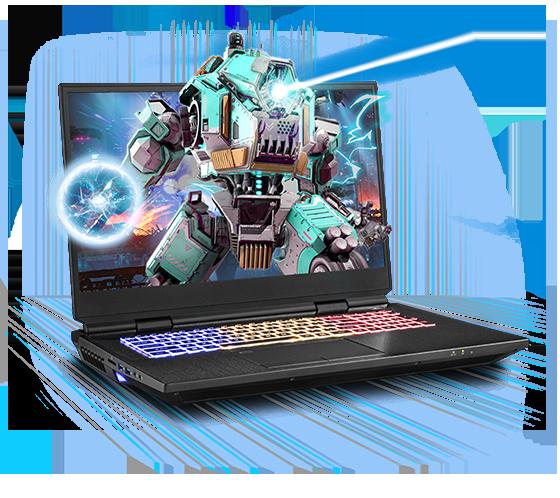 Sager NP9672M Gaming Laptop