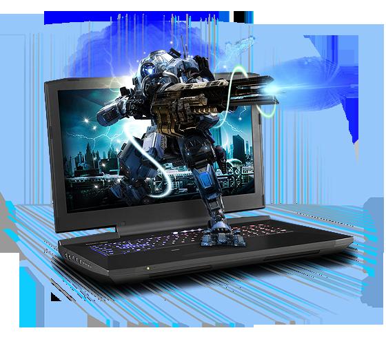 Sager NP9876 Gaming Laptop