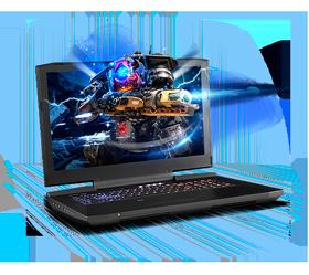 Sager NP9877-S Gaming Laptop